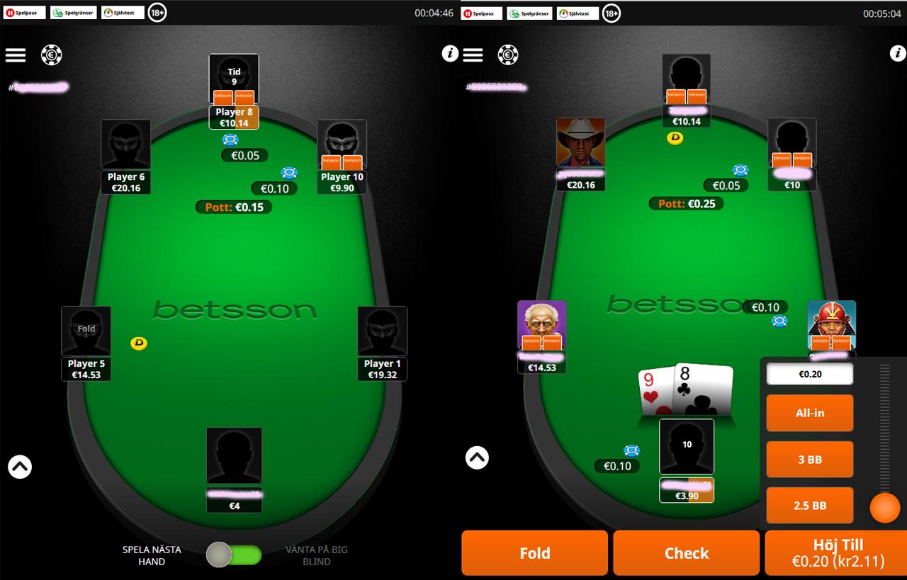 poker i mobil
